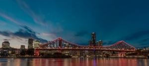 Brisbane City sky line